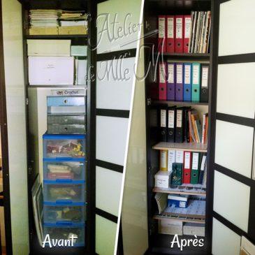 Tablette / Etagère en carton supplémentaire pour armoire
